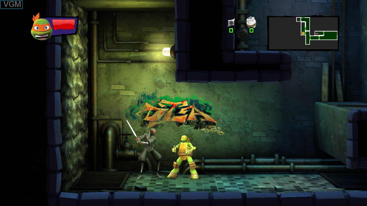 Teenage Mutant Ninja Turtles - Danger of the Ooze