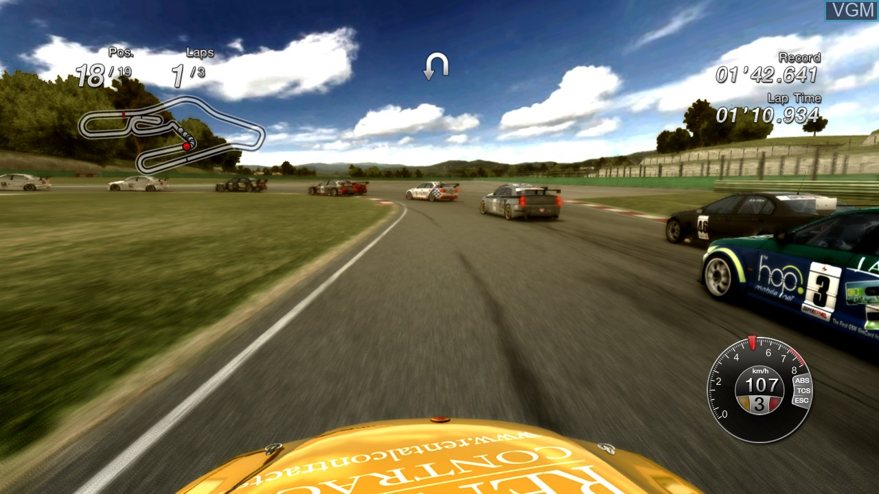 Image in-game du jeu Superstars V8 Racing sur Microsoft Xbox 360