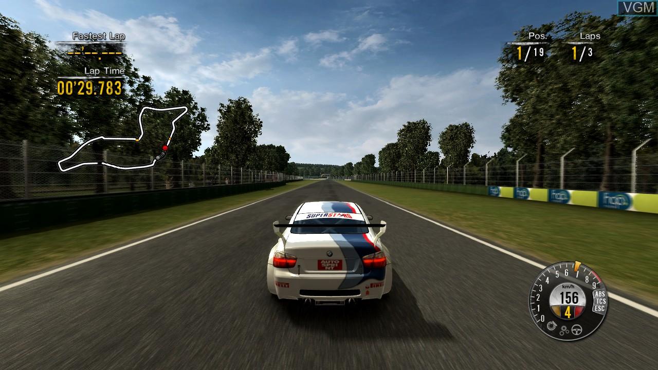 Image in-game du jeu Superstars V8 Next Challenge sur Microsoft Xbox 360