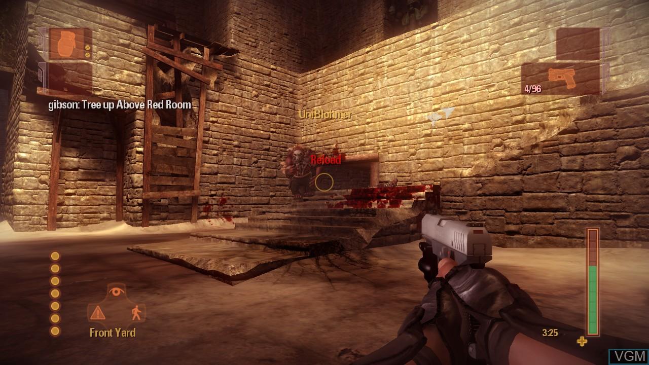 Image in-game du jeu Shadowrun sur Microsoft Xbox 360