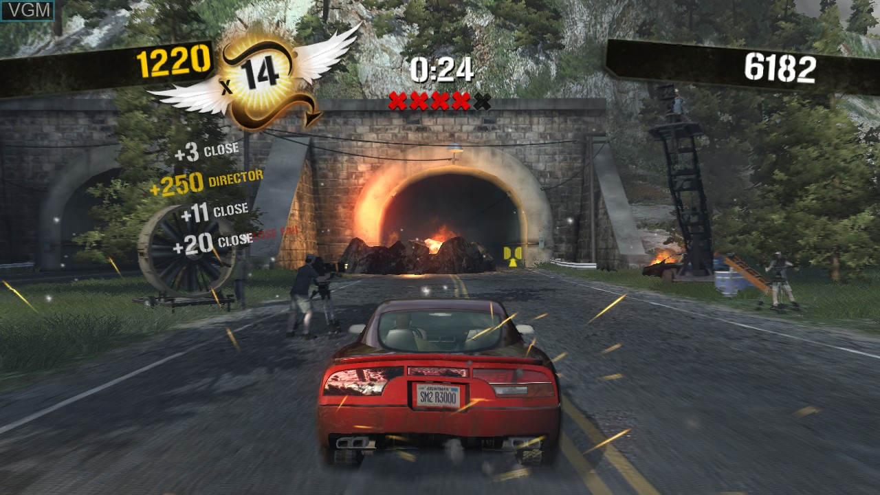 Image in-game du jeu Stuntman Ignition sur Microsoft Xbox 360