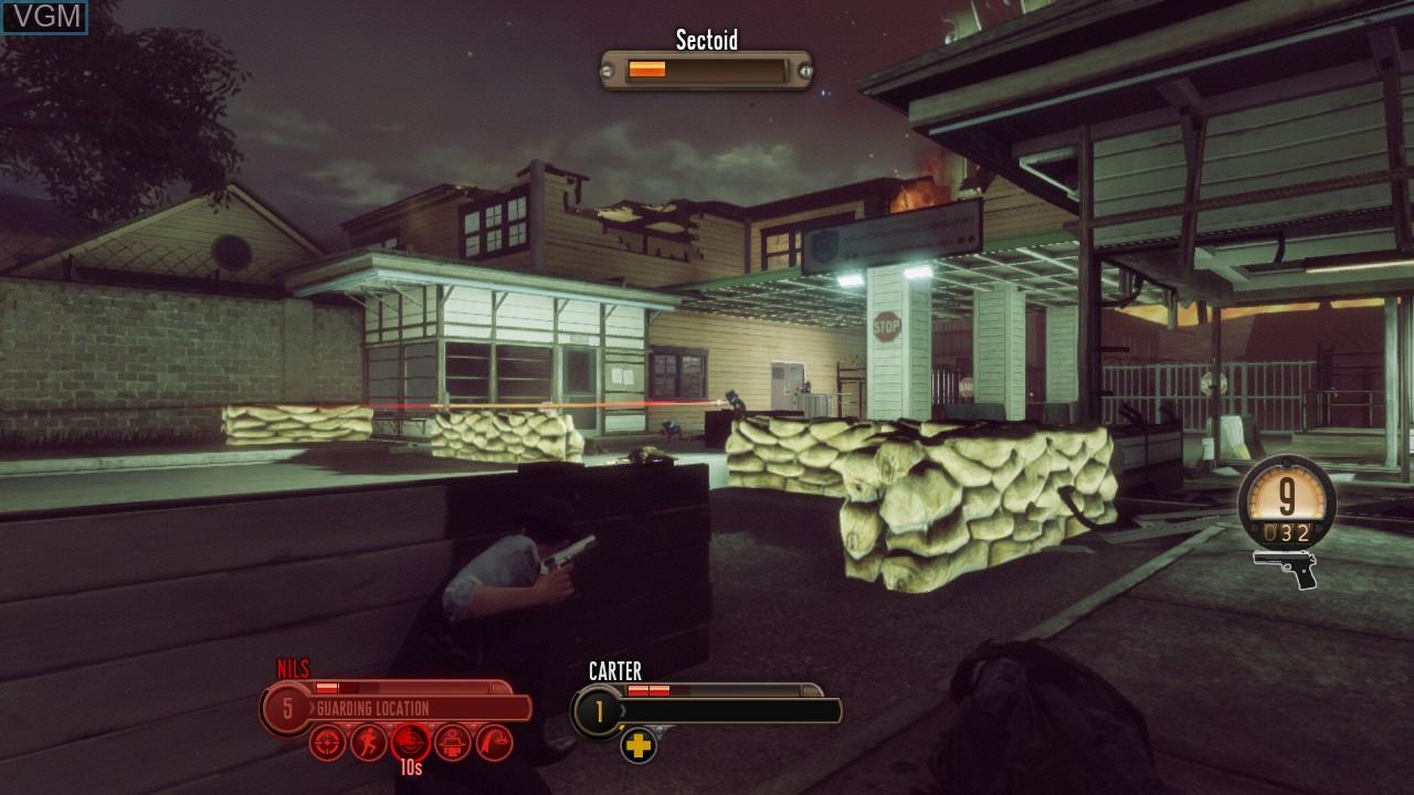Image in-game du jeu Bureau, The - XCOM Declassified sur Microsoft Xbox 360