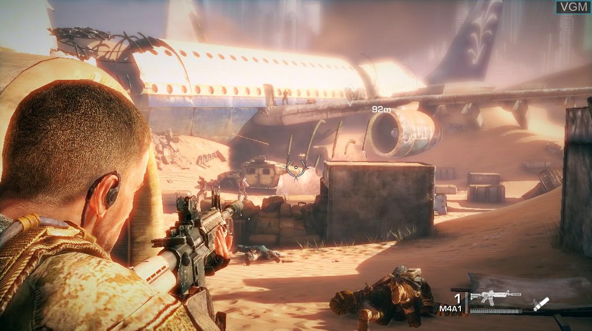 Image in-game du jeu Spec Ops - The Line sur Microsoft Xbox 360