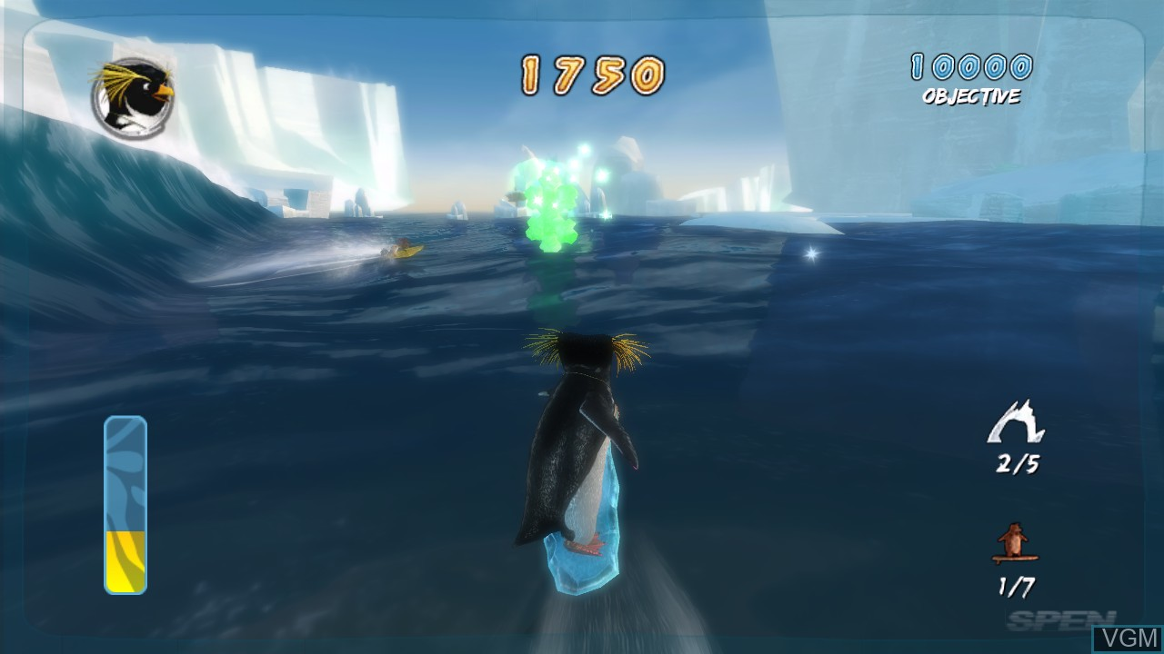 Image in-game du jeu Surf's Up sur Microsoft Xbox 360