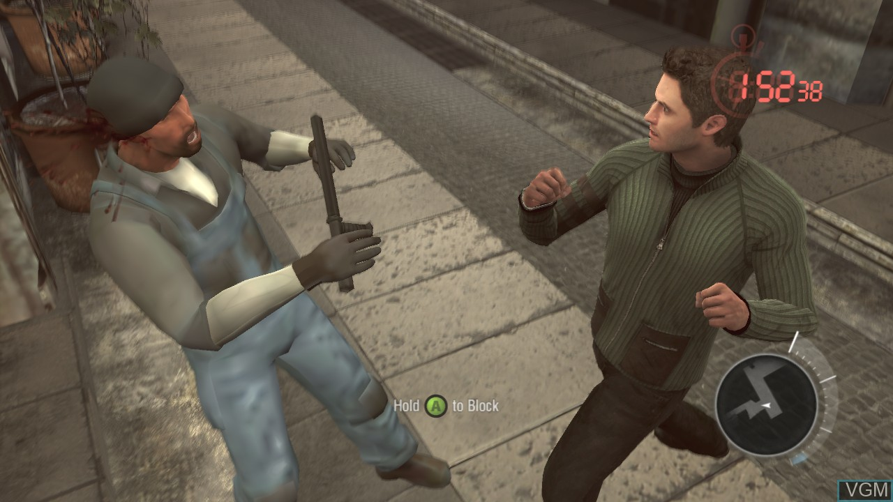 Image in-game du jeu Bourne Conspiracy, The sur Microsoft Xbox 360