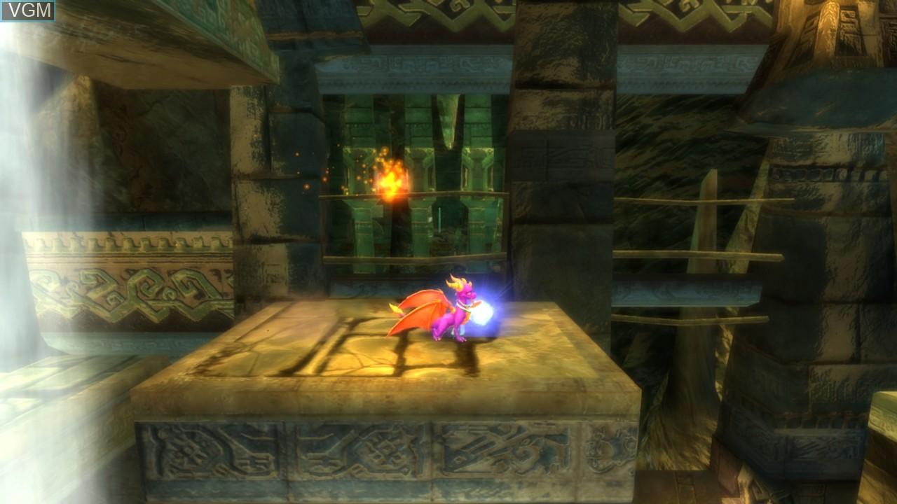 Image in-game du jeu Legend of Spyro, The - Dawn of the Dragon sur Microsoft Xbox 360