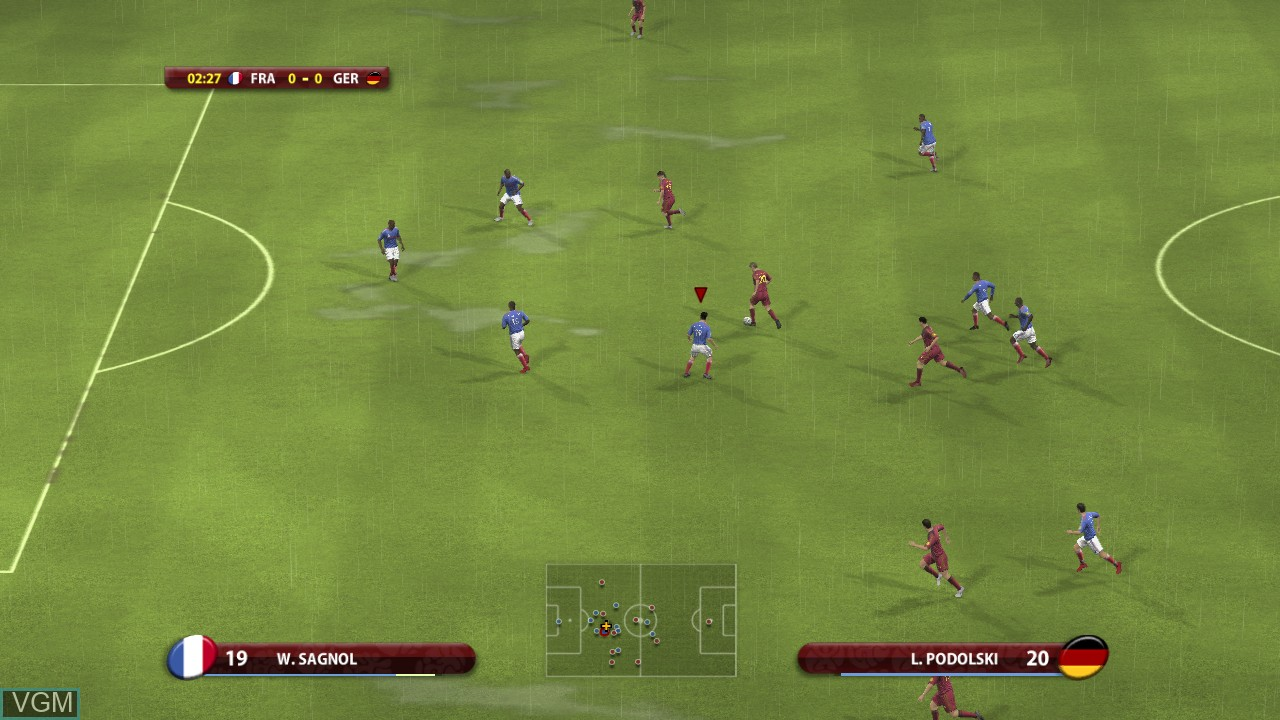 Image in-game du jeu UEFA EURO 2008 - Austria-Switzerland sur Microsoft Xbox 360
