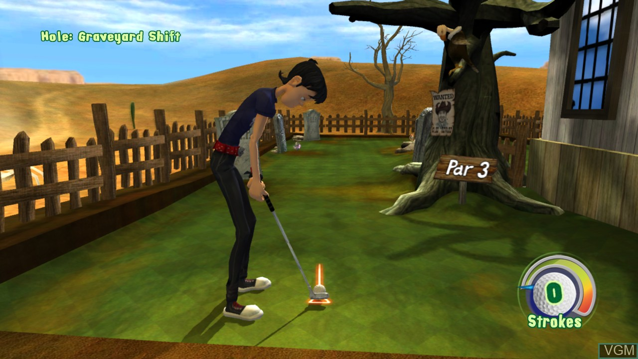Image in-game du jeu 3D Ultra MiniGolf Adventures sur Microsoft Xbox 360