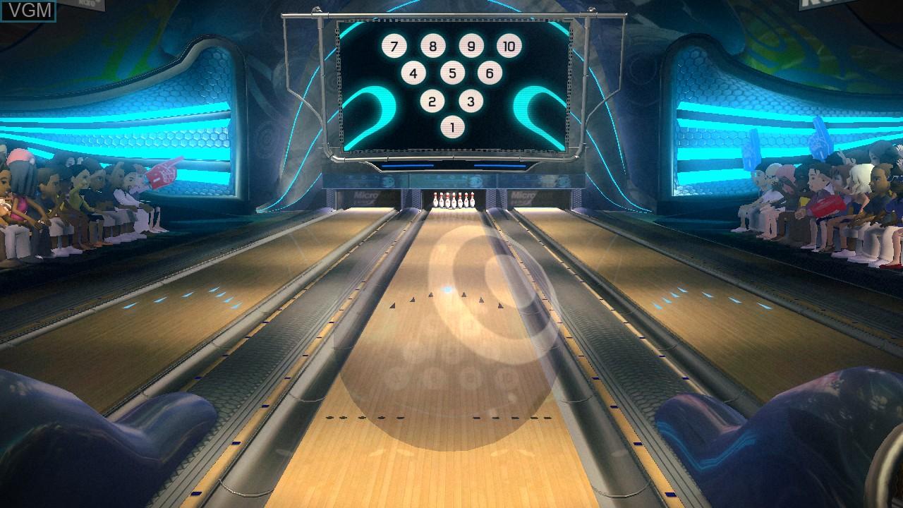 Kinect Sports - 10 Frame Bowling