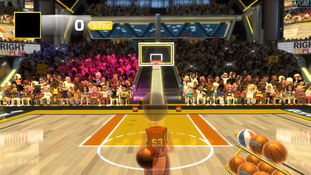 Image in-game du jeu 3 Point Contest sur Microsoft Xbox 360