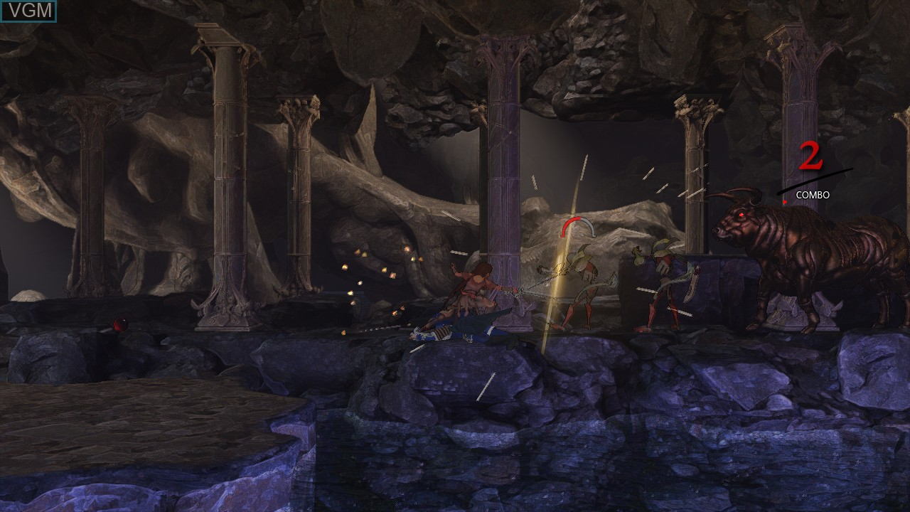 Image in-game du jeu Abyss Odyssey sur Microsoft Xbox 360