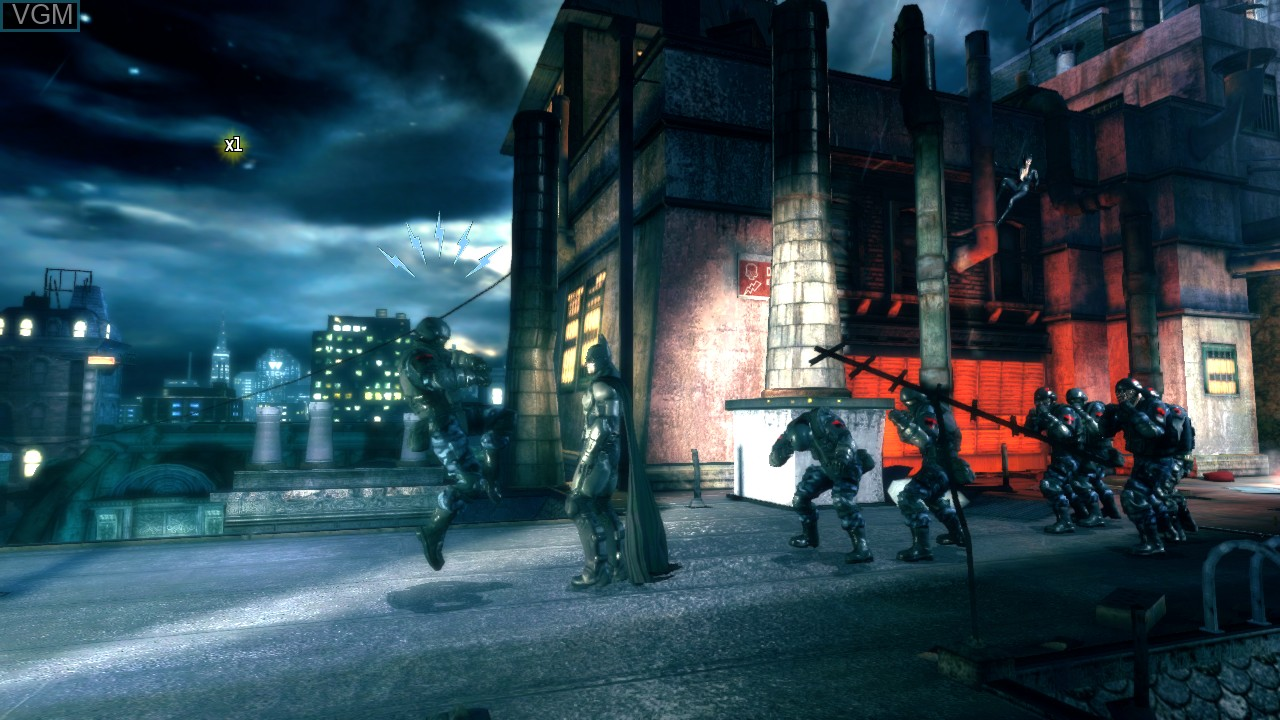 Image in-game du jeu Batman - Arkham Origins Blackgate - Deluxe Edition sur Microsoft Xbox 360