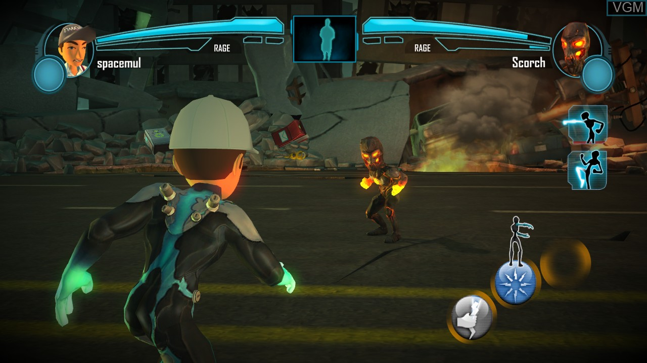 Image in-game du jeu PowerUp Heroes sur Microsoft Xbox 360