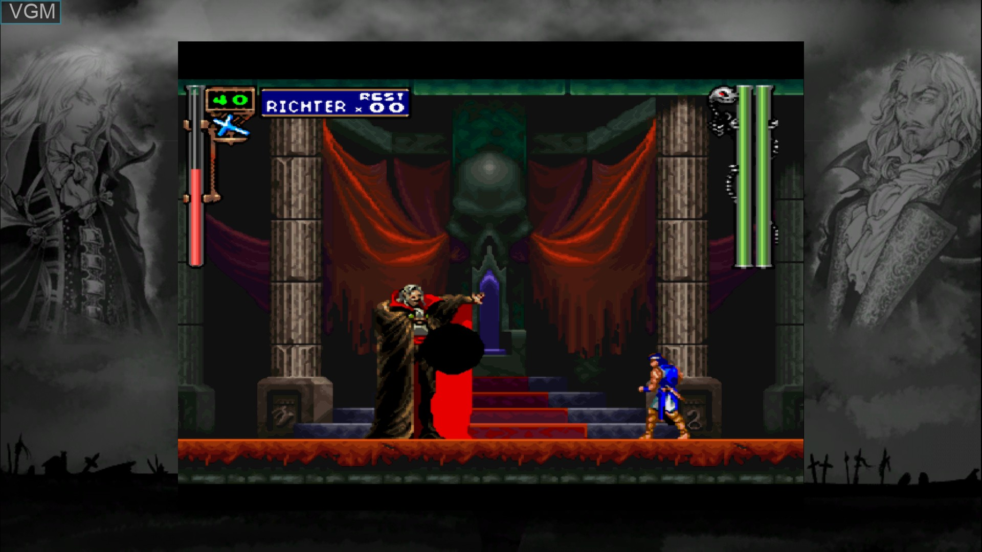 Image in-game du jeu Castlevania - Symphony of the Night sur Microsoft Xbox 360