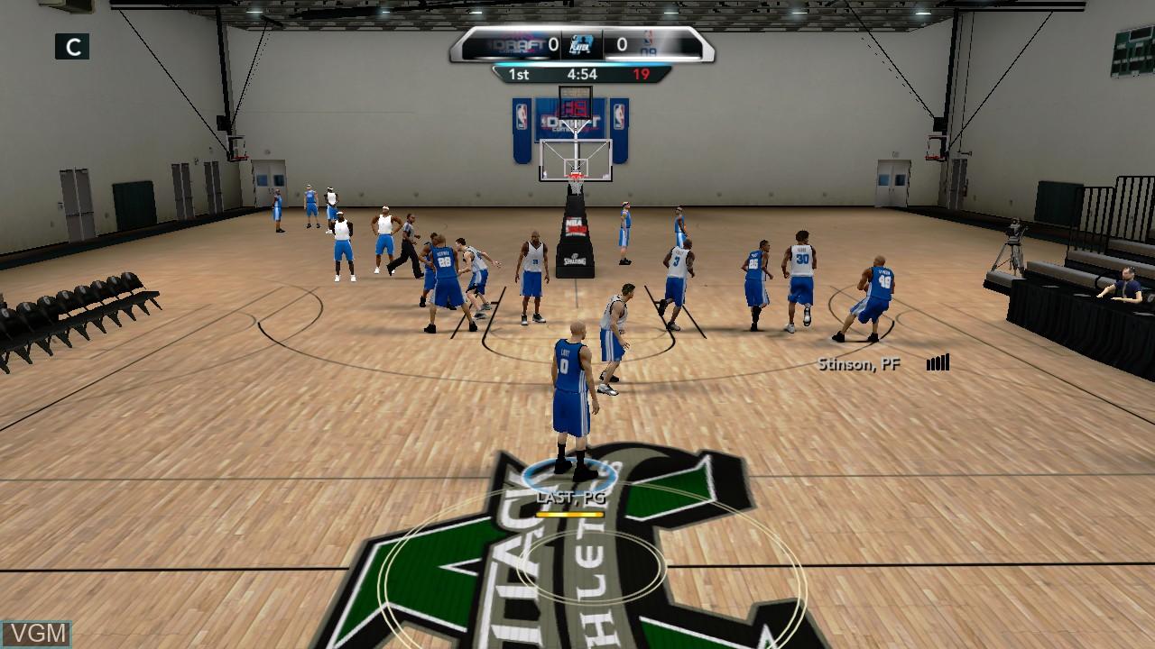 NBA 2K10 - Draft Combine