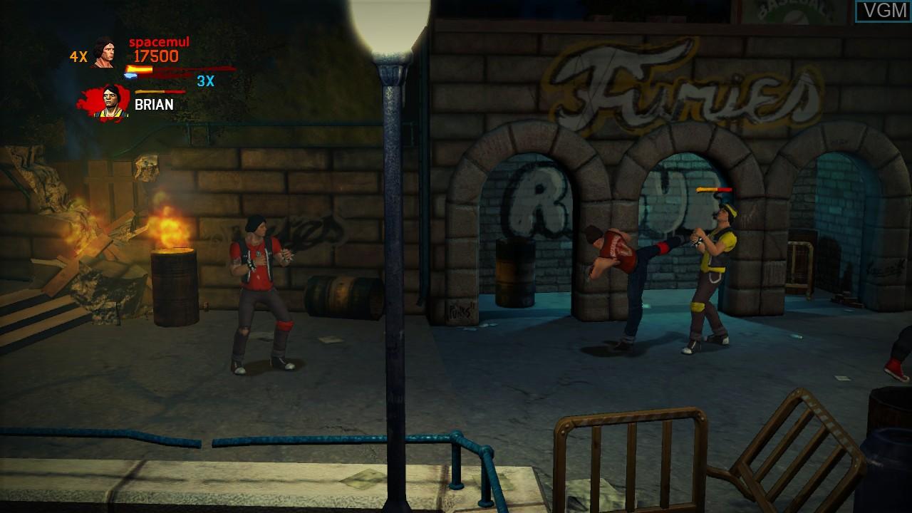 Warriors, The - Street Brawl