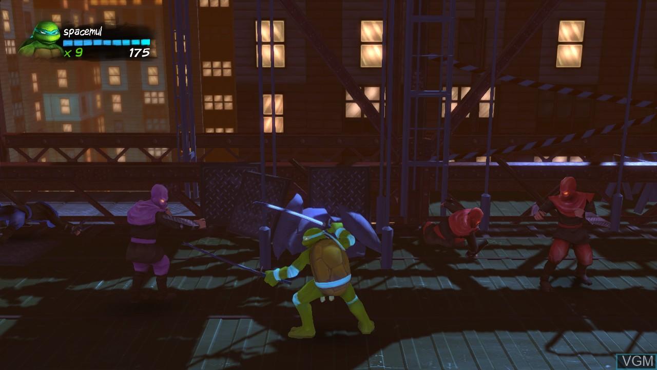 Image in-game du jeu Teenage Mutant Ninja Turtles - Turtles in Time Re-Shelled sur Microsoft Xbox 360