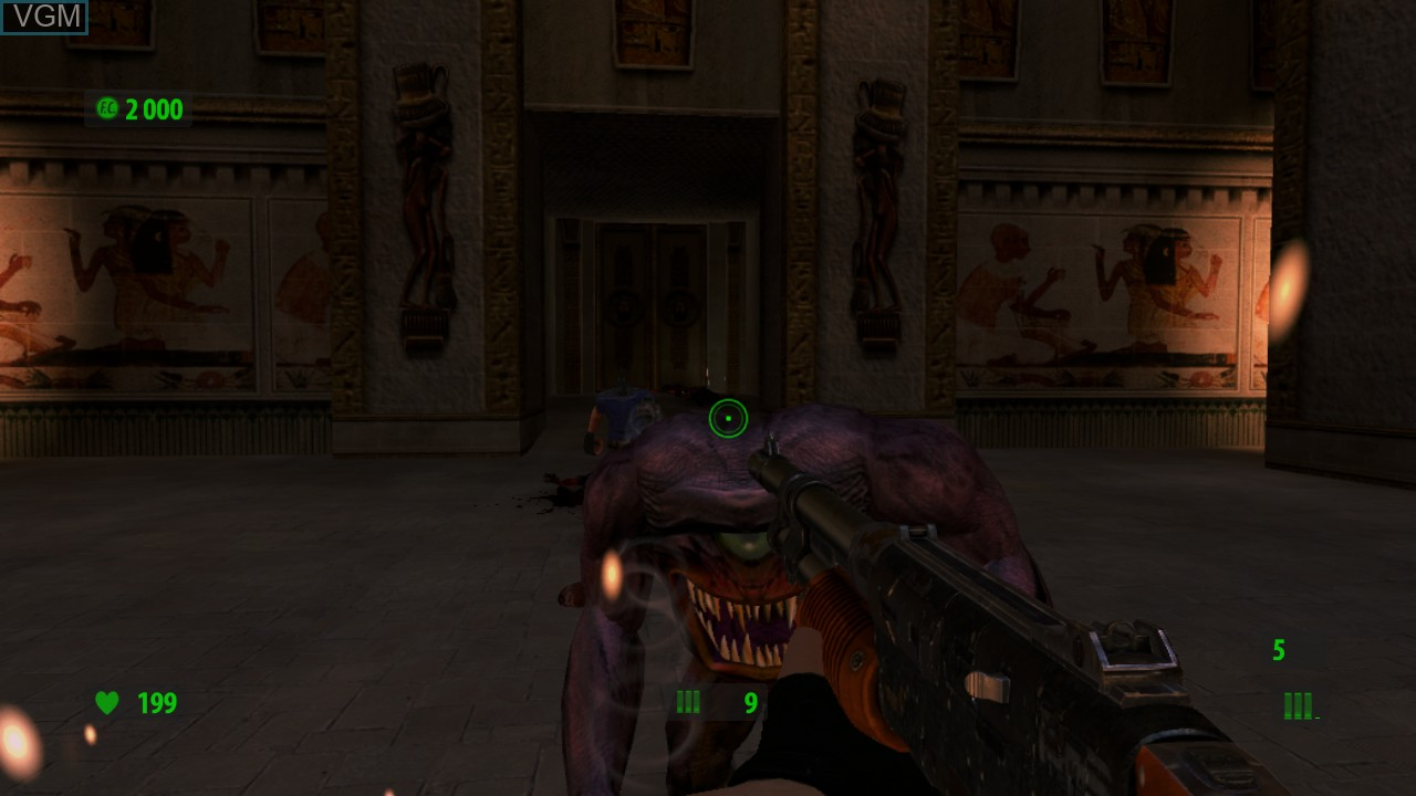 Image in-game du jeu Serious Sam HD - The First Encounter sur Microsoft Xbox 360