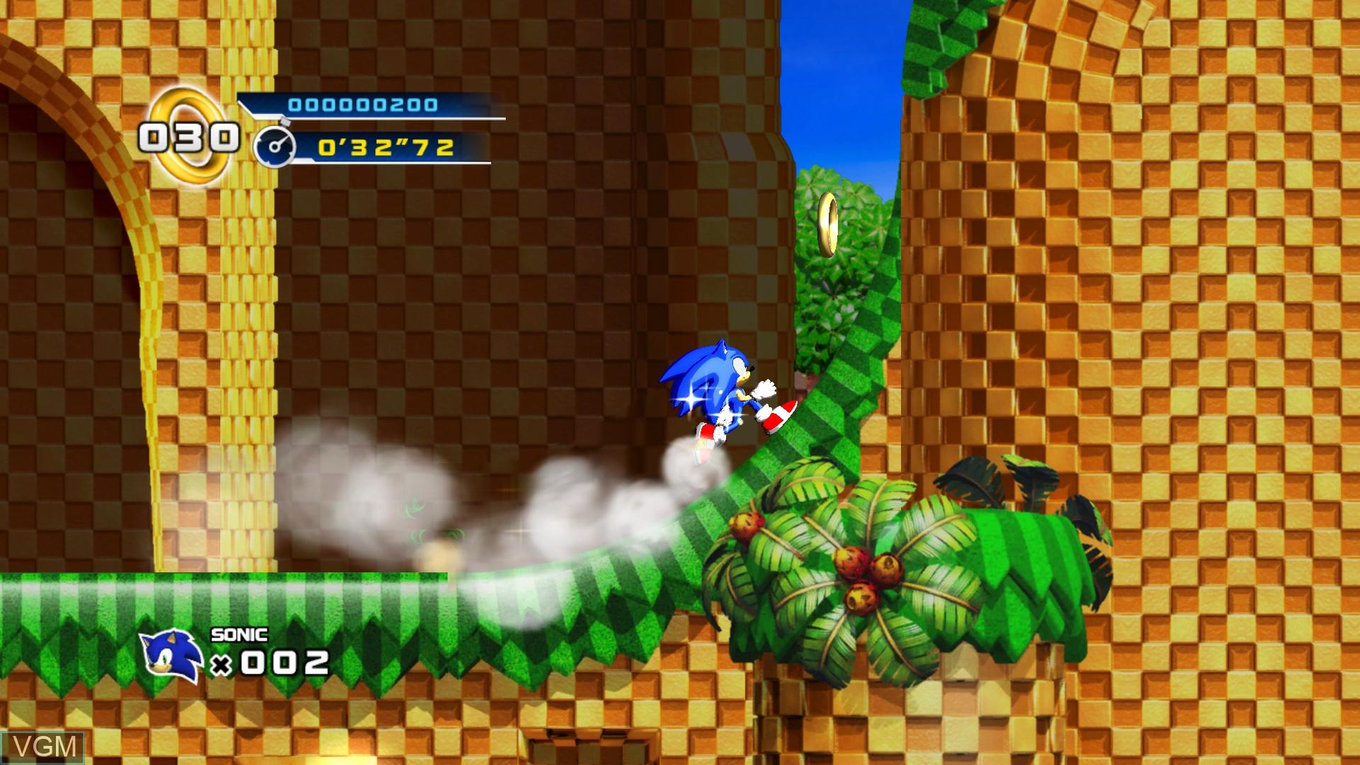 Image in-game du jeu Sonic the Hedgehog 4 - Episode I sur Microsoft Xbox 360