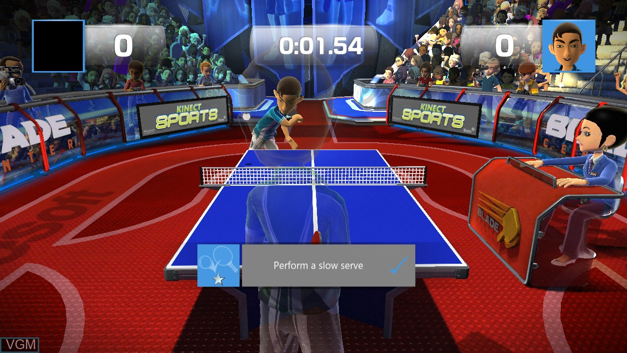 Kinect Sports - Ping Pong