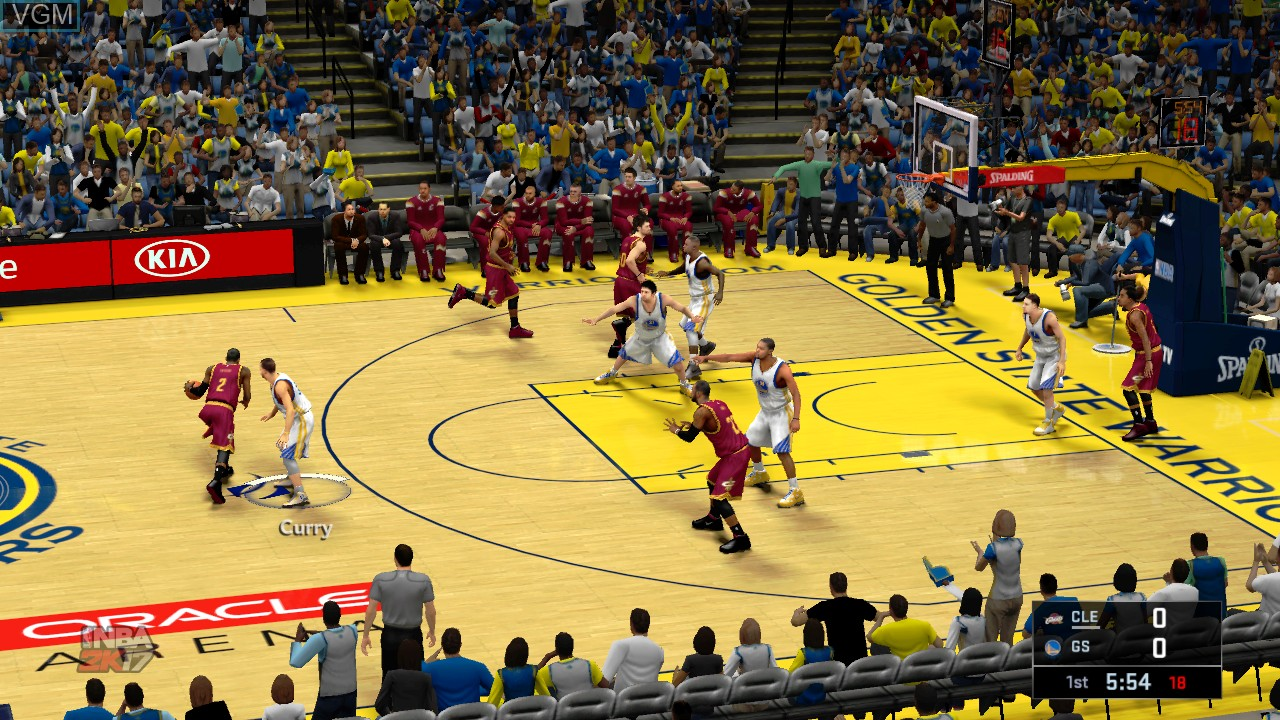 Image in-game du jeu NBA 2K17 sur Microsoft Xbox 360