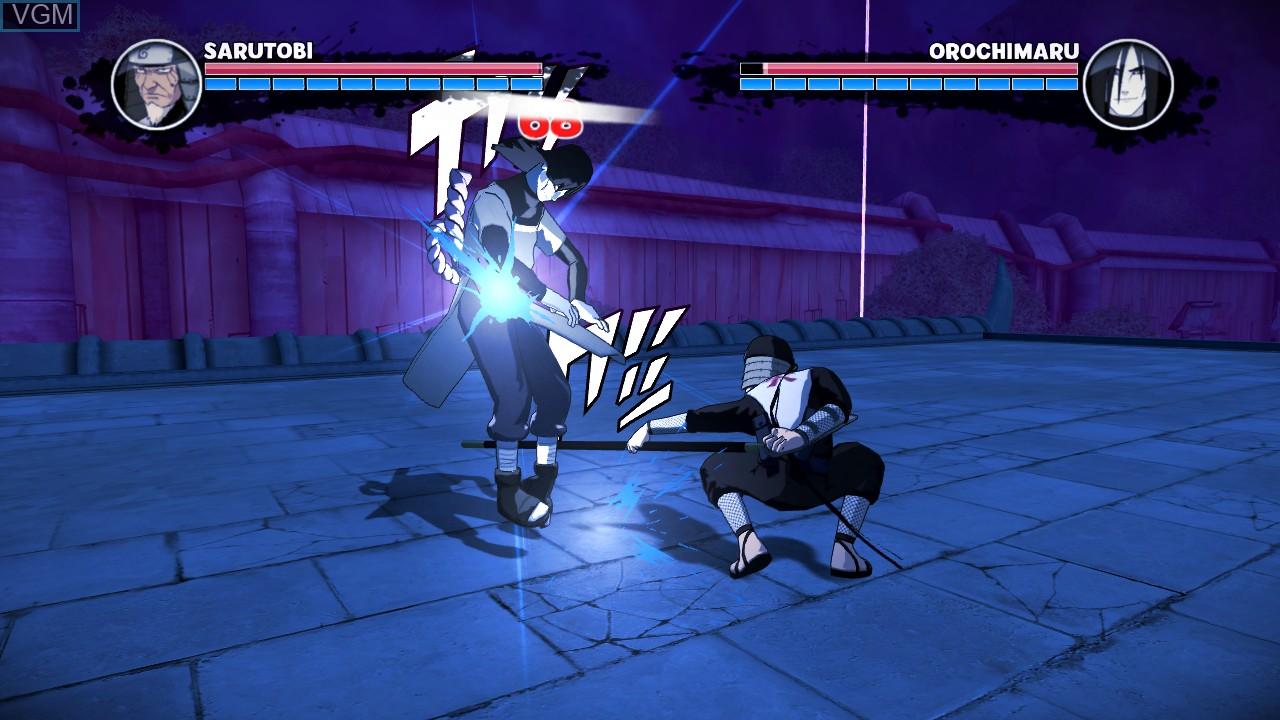 Image in-game du jeu Naruto - The Broken Bond sur Microsoft Xbox 360