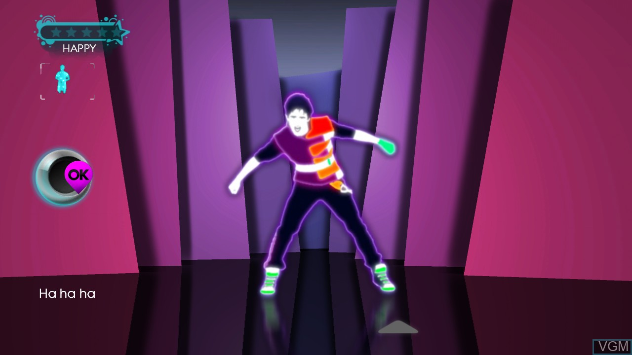 Image in-game du jeu Just Dance 3 sur Microsoft Xbox 360