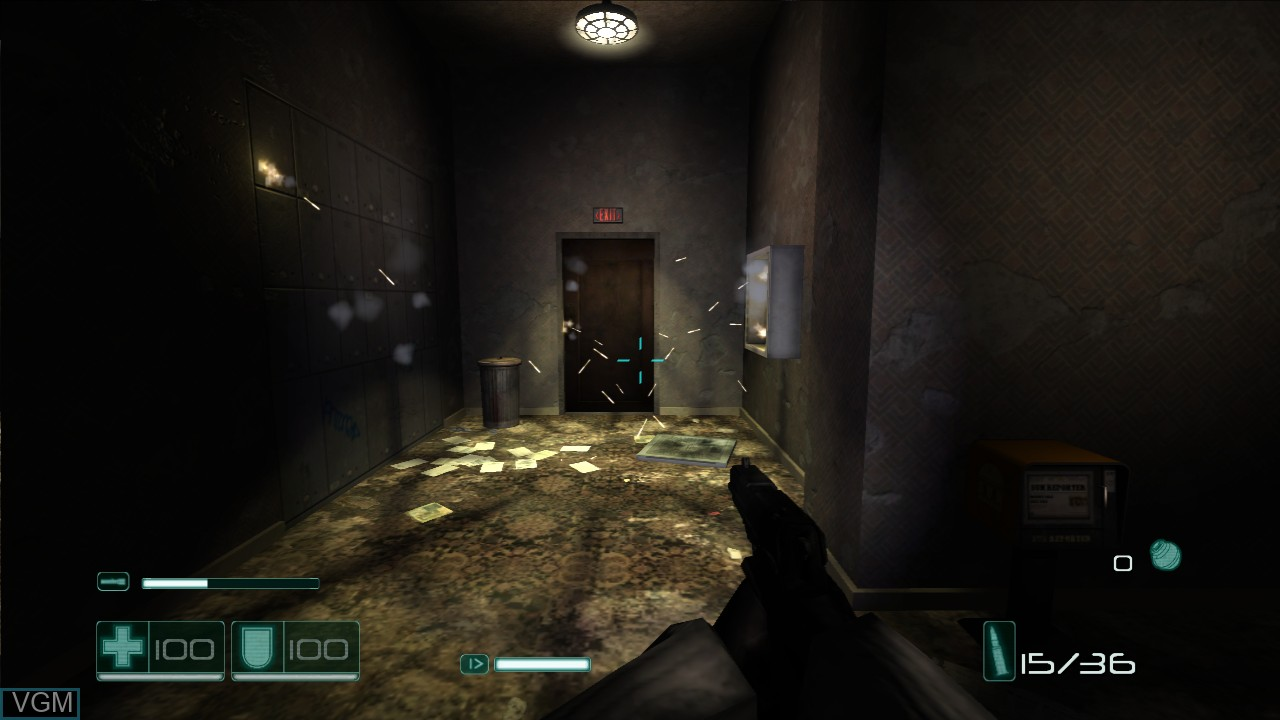 Image in-game du jeu F.E.A.R. Files sur Microsoft Xbox 360