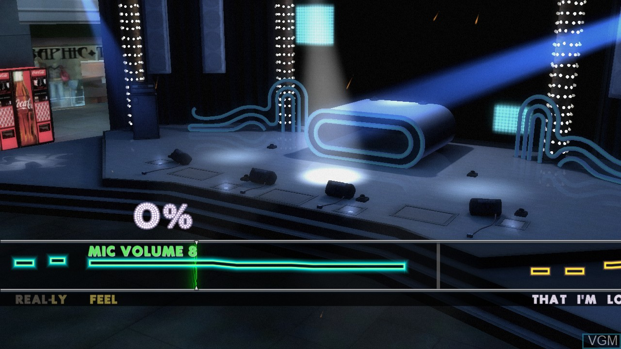 Image in-game du jeu Band Hero sur Microsoft Xbox 360