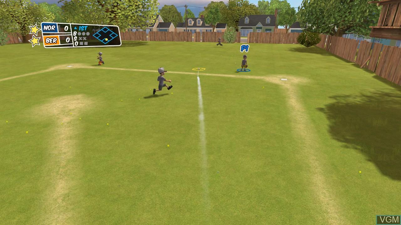 Image in-game du jeu Backyard Sports - Sandlot Sluggers sur Microsoft Xbox 360