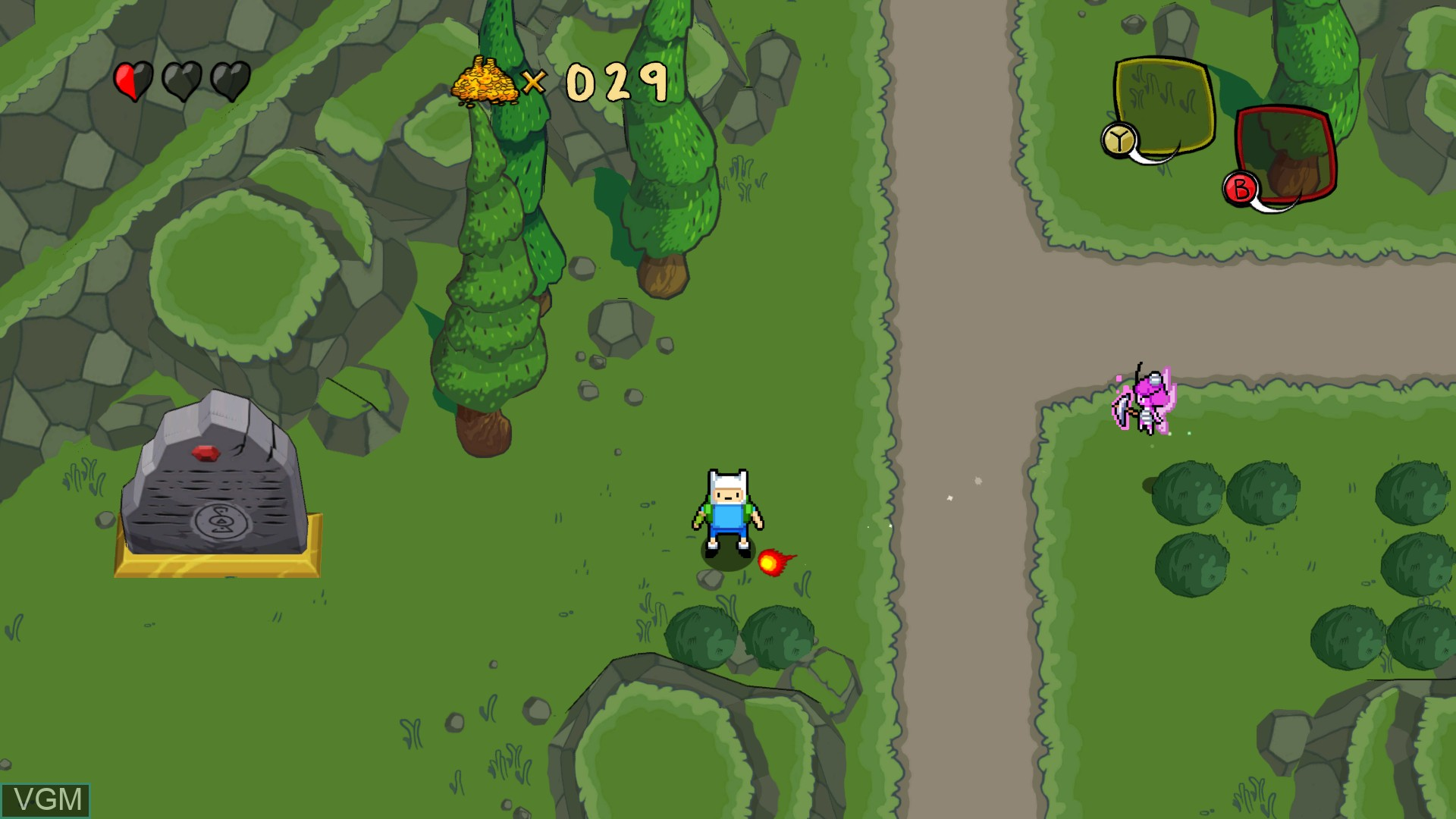 Image in-game du jeu Adventure Time - The Secret of the Nameless Kingdom sur Microsoft Xbox 360