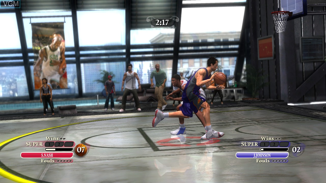 Image in-game du jeu NBA Ballers - Chosen One sur Microsoft Xbox 360