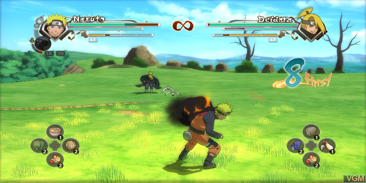 Image in-game du jeu Naruto Shippuden - Ultimate Ninja Storm Generations sur Microsoft Xbox 360