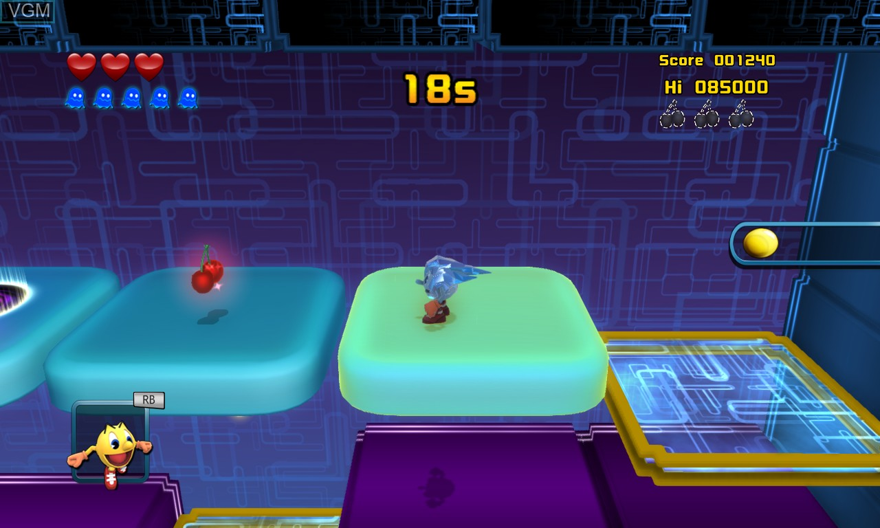 Image in-game du jeu Pac-Man and the Ghostly Adventures 2 sur Microsoft Xbox 360