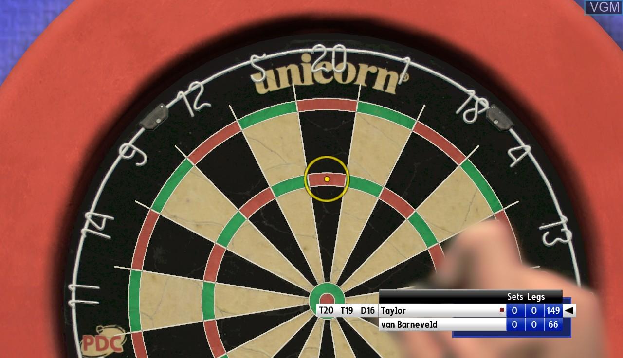 Image in-game du jeu PDC World Championship Darts - Pro Tour sur Microsoft Xbox 360