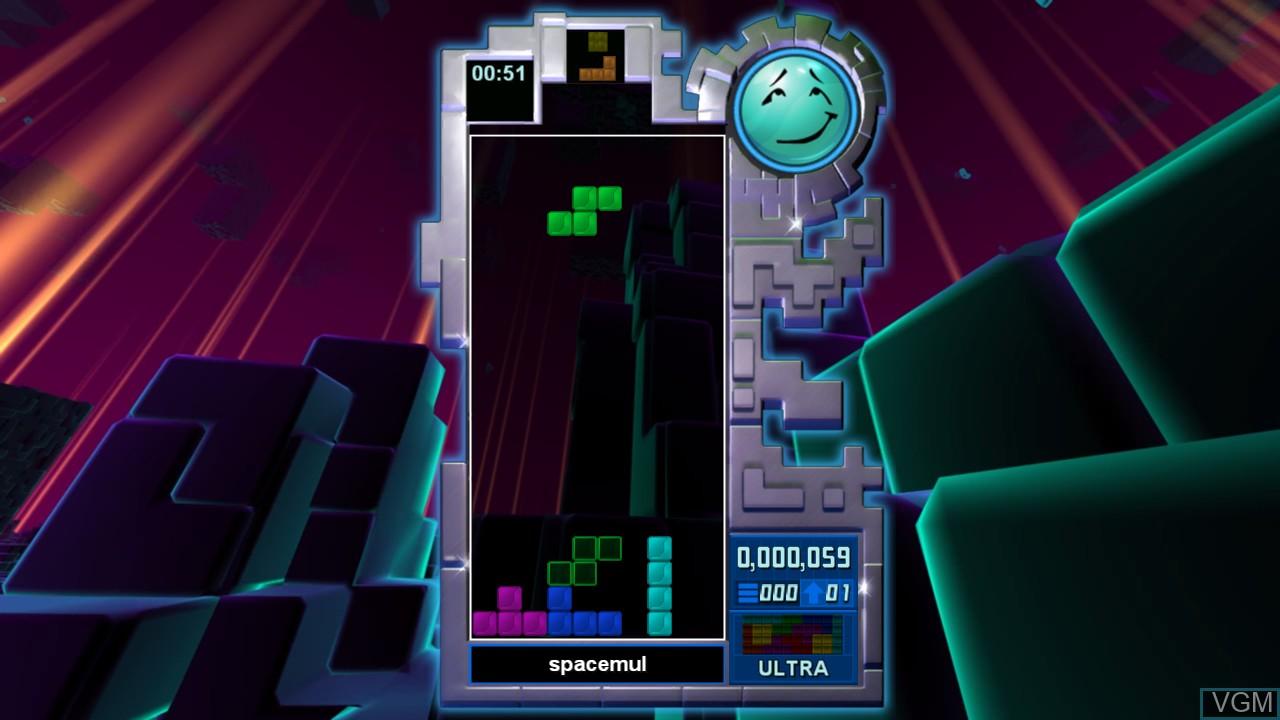 Image in-game du jeu Tetris Evolution sur Microsoft Xbox 360