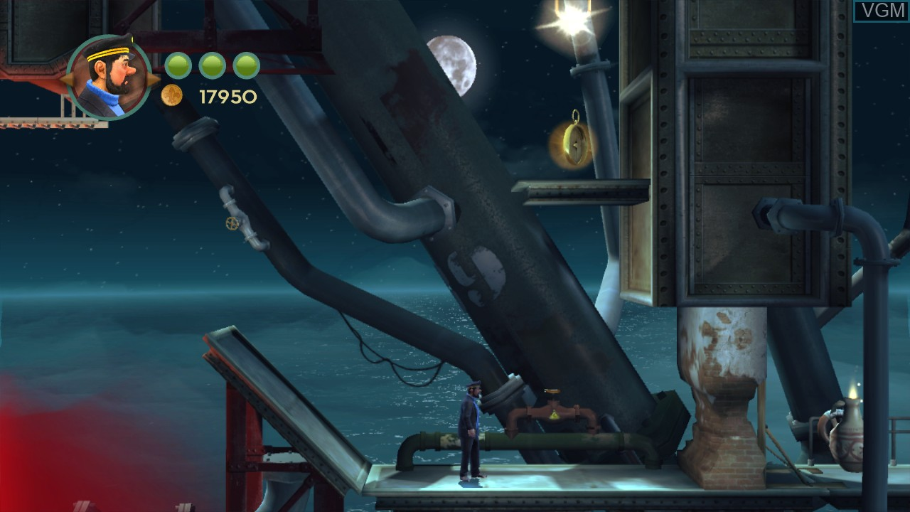 Image in-game du jeu Adventures of Tintin, The - The Secret of the Unicorn sur Microsoft Xbox 360