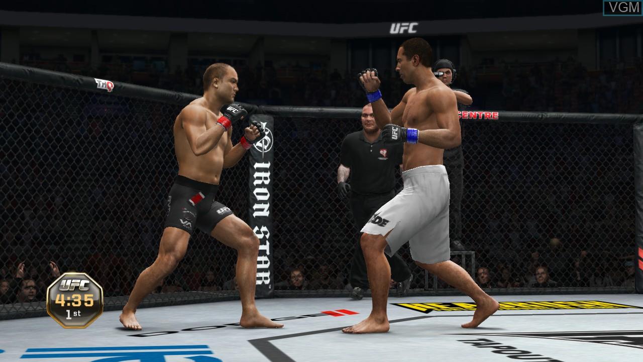 Image in-game du jeu UFC Undisputed 3 sur Microsoft Xbox 360