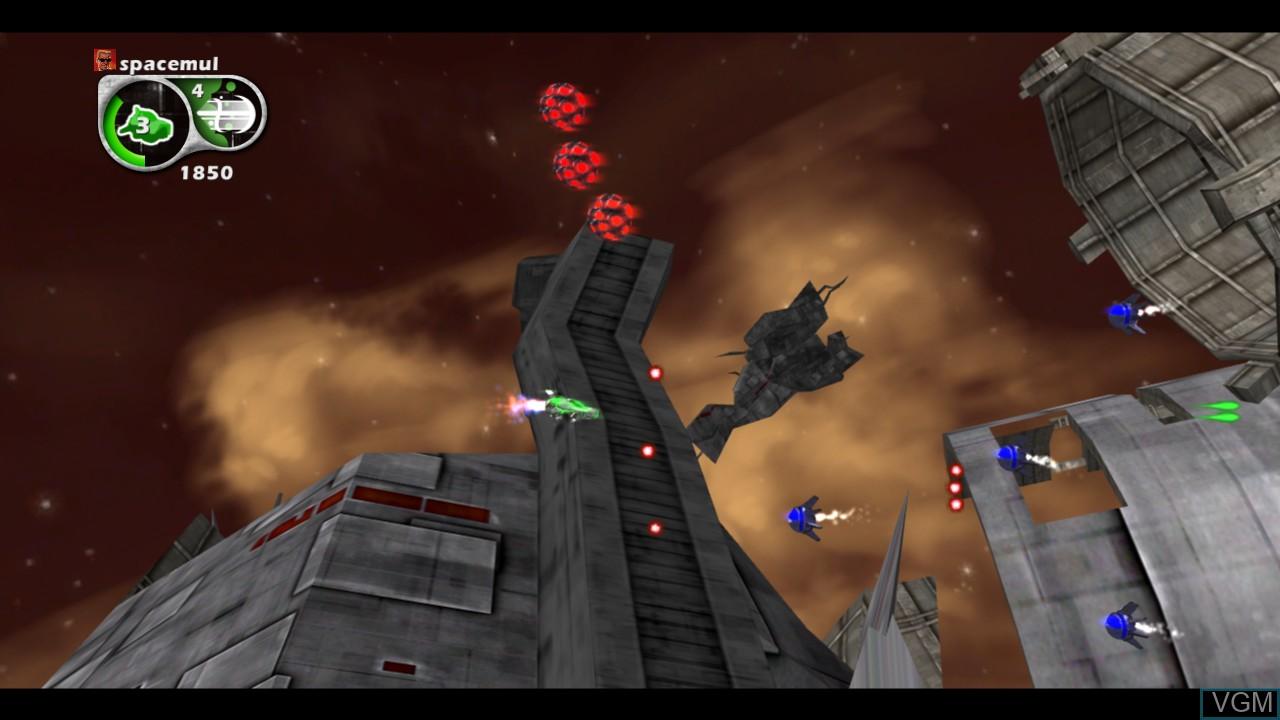 Image in-game du jeu Aegis Wing sur Microsoft Xbox 360