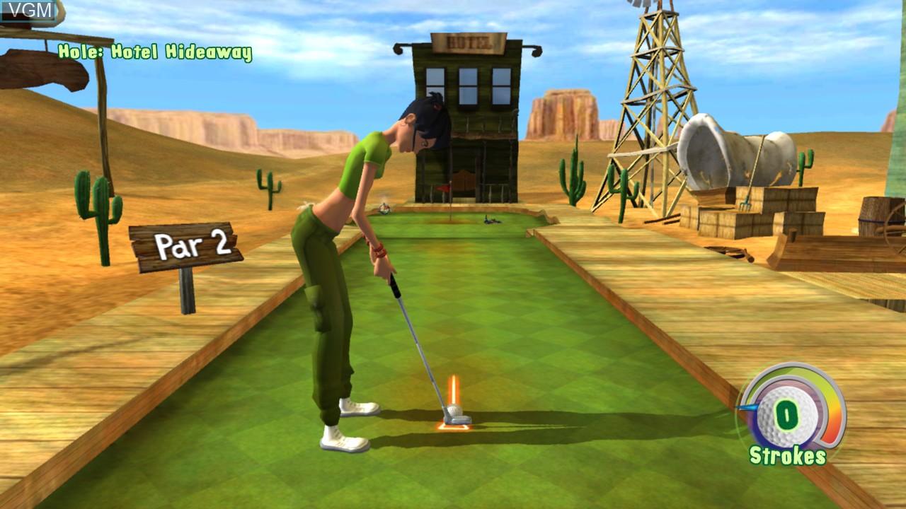 Image in-game du jeu 3D Ultra MiniGolf Adventures sur Microsoft Xbox 360