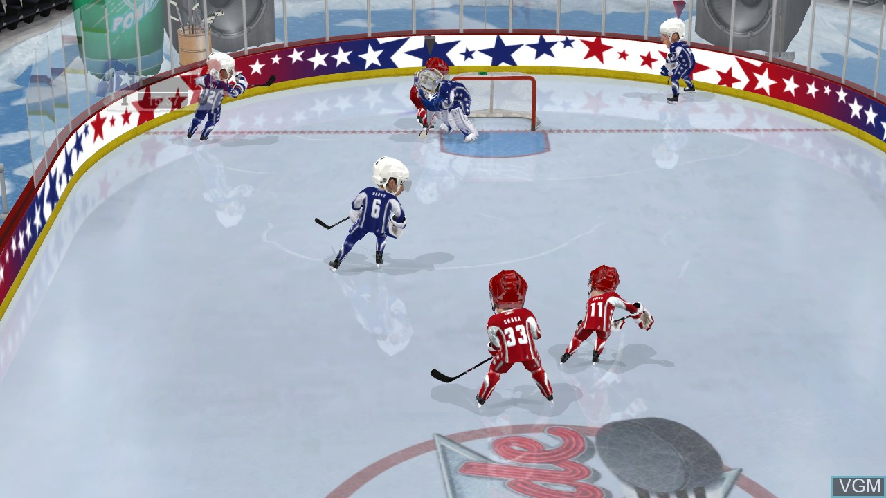 Image in-game du jeu 3 on 3 NHL Arcade sur Microsoft Xbox 360