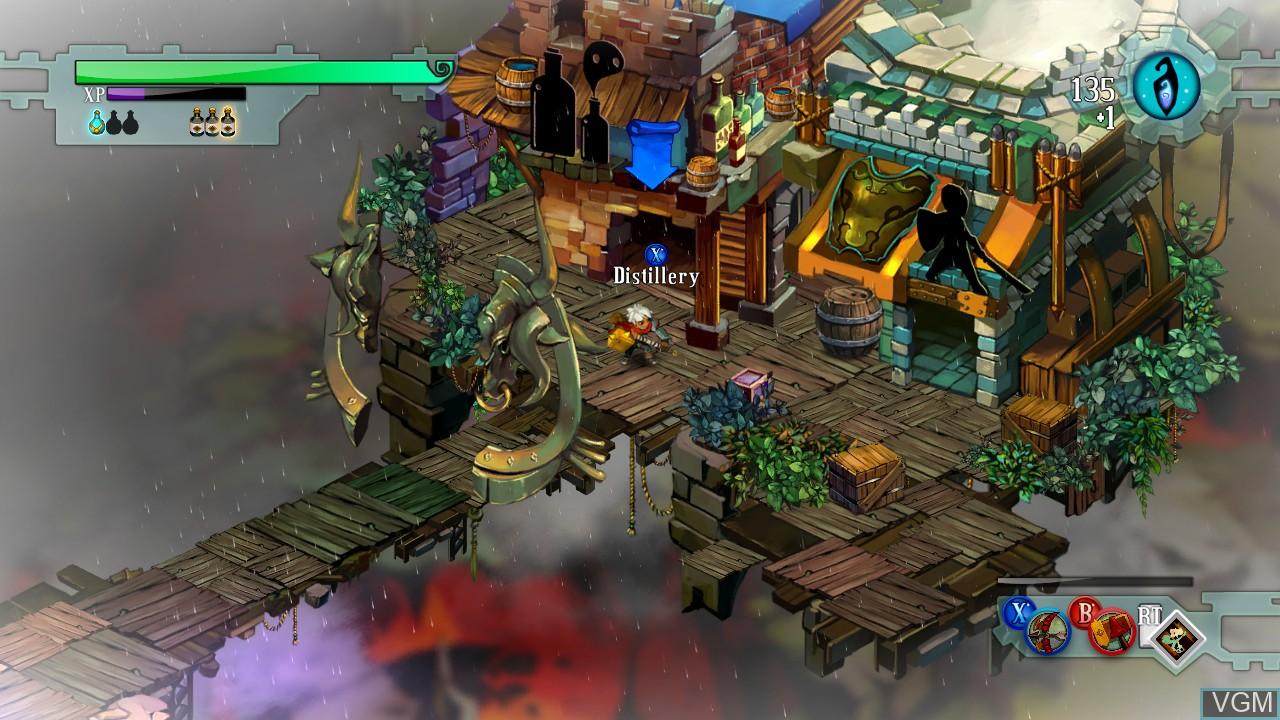 Image in-game du jeu Bastion sur Microsoft Xbox 360