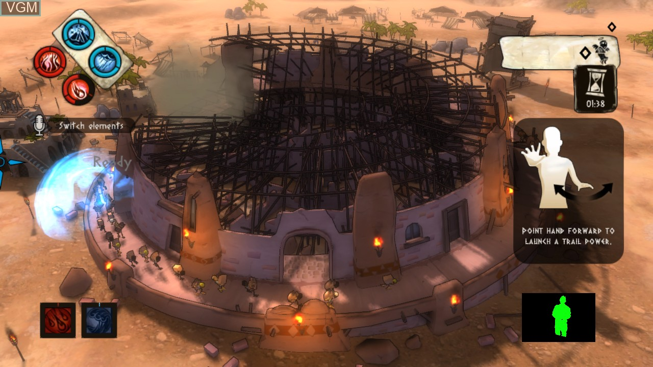 Image in-game du jeu Babel Rising sur Microsoft Xbox 360