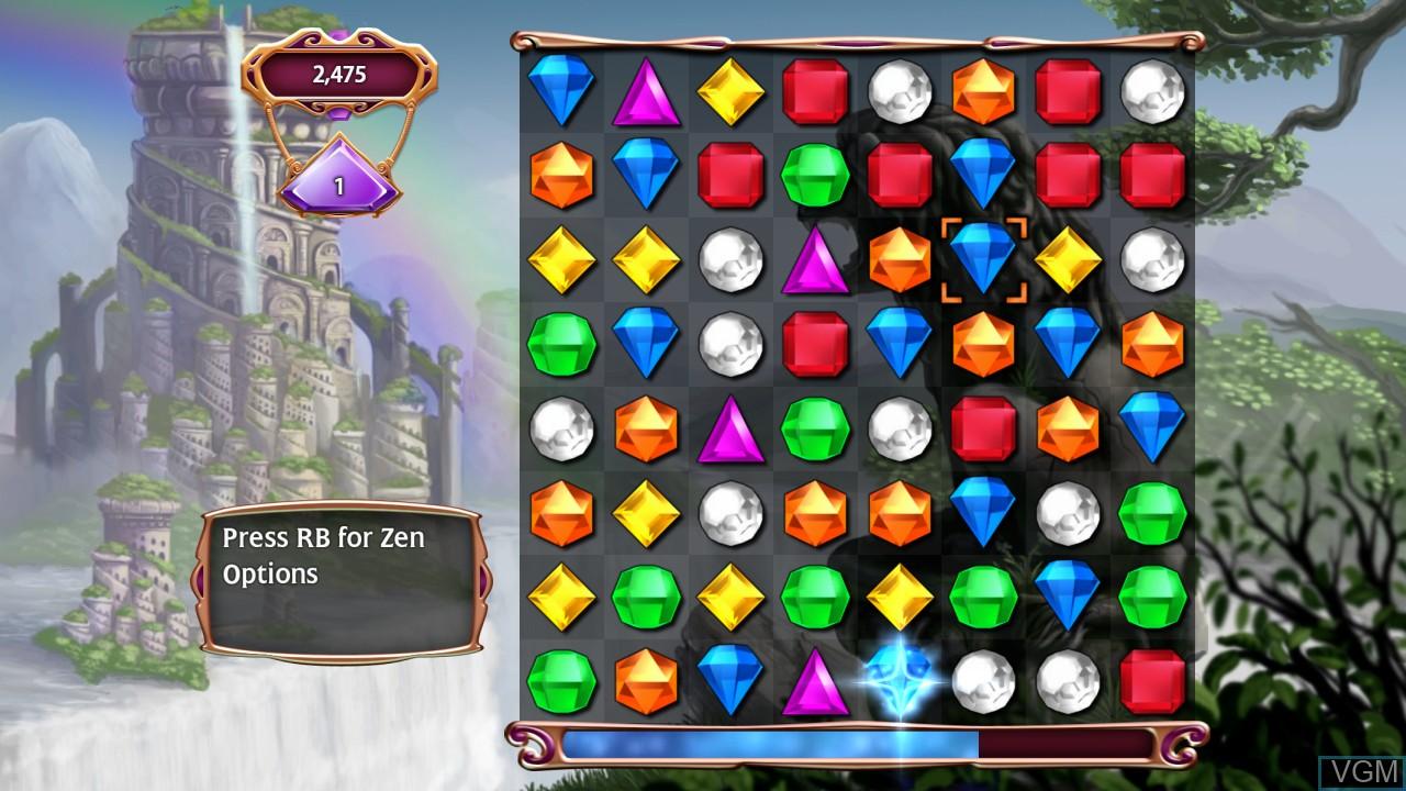 Image in-game du jeu Bejeweled 3 sur Microsoft Xbox 360