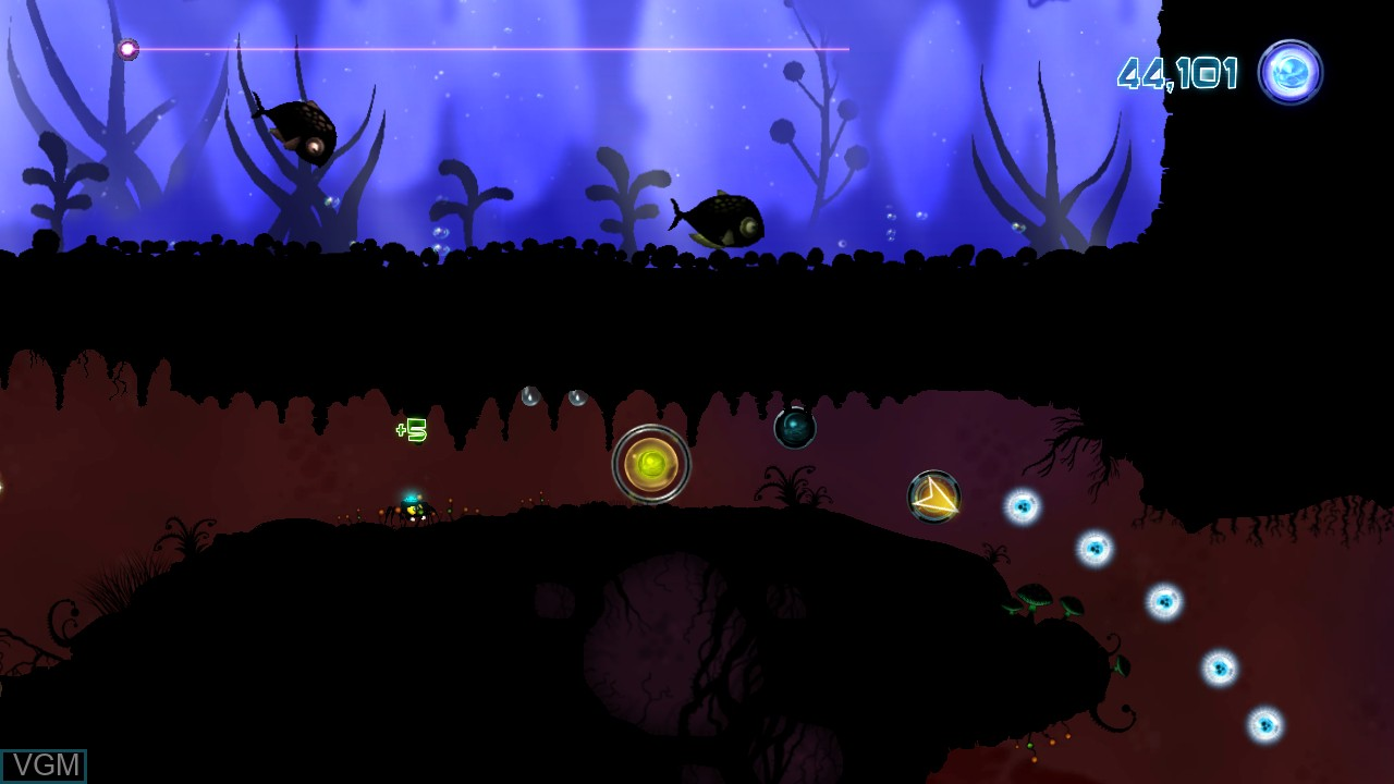 Image in-game du jeu Alien Spidy sur Microsoft Xbox 360