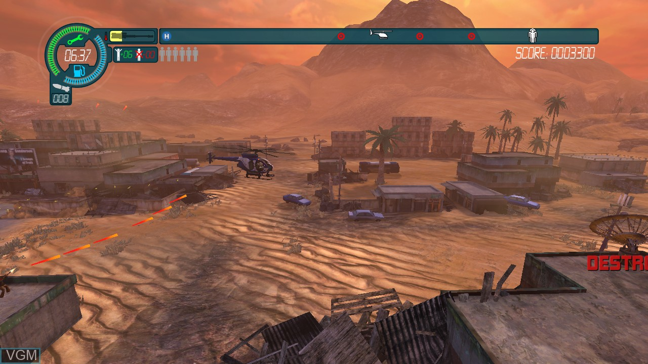 Image in-game du jeu Choplifter HD sur Microsoft Xbox 360