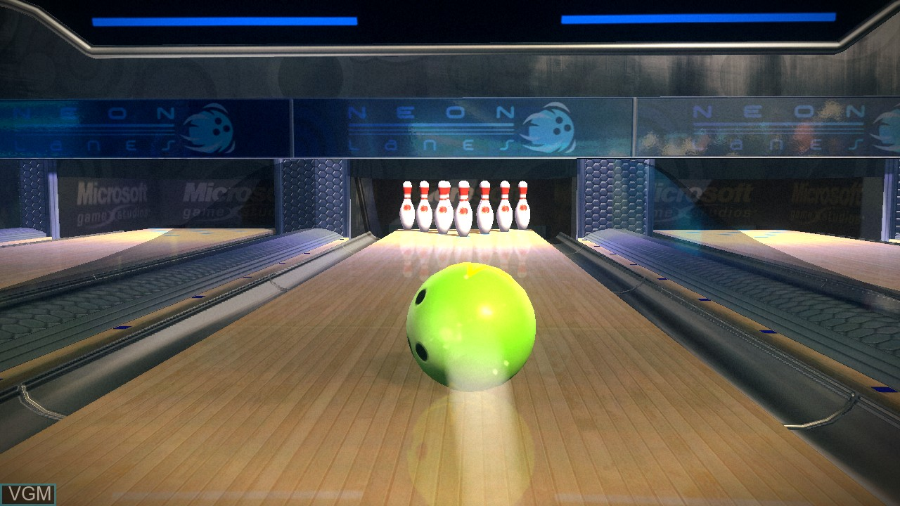Image in-game du jeu Kinect Sports - 10 Frame Bowling sur Microsoft Xbox 360