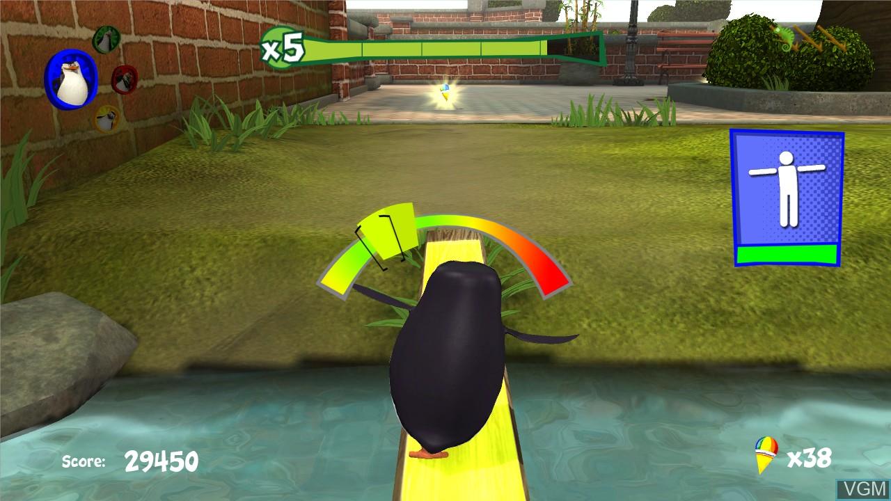 Image in-game du jeu Penguins of Madagascar, The - Dr. Blowhole Returns - Again! sur Microsoft Xbox 360