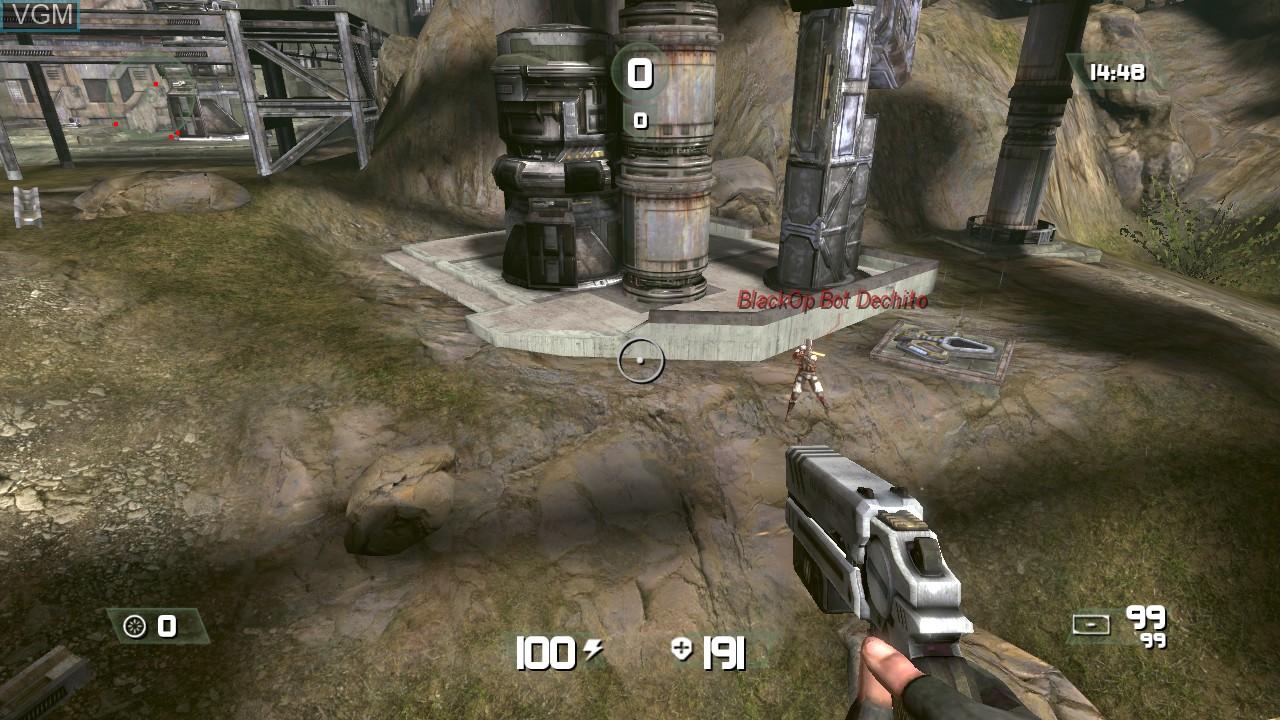 Image in-game du jeu CellFactor - Psychokinetic Wars sur Microsoft Xbox 360