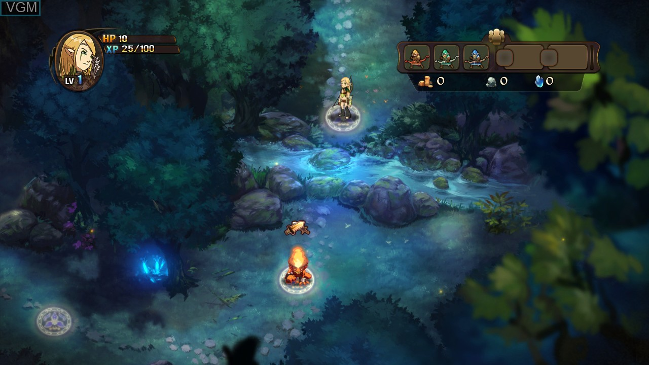 Image in-game du jeu Might & Magic - Clash of Heroes sur Microsoft Xbox 360